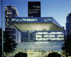 Biblioteca Central de Seattle,© Philippe Ruault