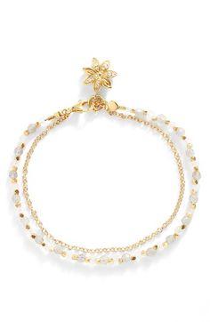 Astley Clarke 'Biography' Beaded Bracelet available at Diy Bracelets Easy, Dainty Bracelets, Gemstone Bracelets, Handmade Bracelets, Jewelry Bracelets, Handmade Jewelry, Bijoux Design, Jewelry Design, Bracelet Making