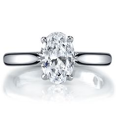 Jean Dousset Diamonds : NINA Oval Cut : Engagement Rings Gallery : Brides