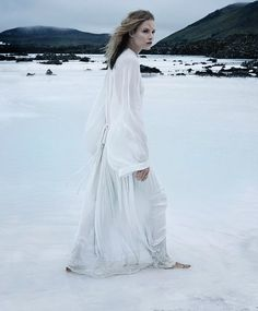Suvi Koponen Dresses Elegantly for the Arctic trendhunter.com