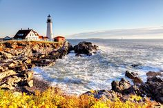 Portland Head, Cape Elizabeth, Maine. EEUU 1791