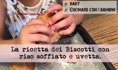 Biscotti con Riso Soffiato e Uvetta - La Ricetta - Triloblogger