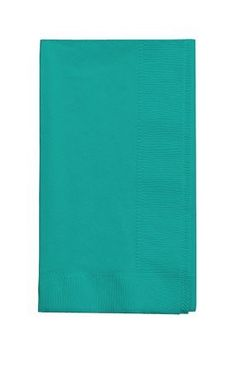 50 gorgeous Teal lagoon Dinner Napkins for Wedding, Party, Bridal or Baby Shower, Disposable Bulk Supply Quality!