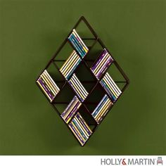 Always a customer favorite, the Holly & Martin Concorde Wall Mount CD Rack