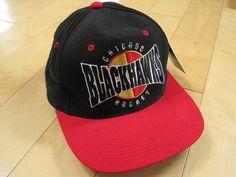 STARTER!! 90s vintage CHICAGO BLACKHAWKS snapback CAP HAT hockey NHL on eBay!