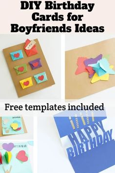 birthday card for boyfriend printable, personalized birthday card for boyfriend