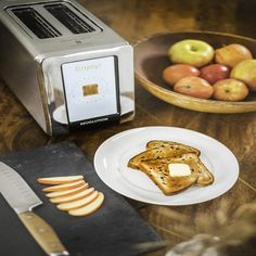 GIFT-FEED: Revolution R180 Stainless Steel Smart Toaster Oven Gourmet Gifts, Food Gifts, Keto Chocolate Chip Cookies, Mini Bottles, Heating Systems, Toaster, Waffles, Oven, Stainless Steel