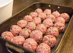 low carb meatballs with flax meal Trim Healthy Recipes, Trim Healthy Momma, Low Carb Recipes, Cooking Recipes, Free Recipes, Protein Recipes, Easy Recipes, Vegetarian Recipes, Paleo