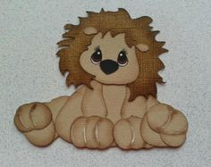 Tear Bear Animals | ... animal paper piecing for scrapbook and card making by my tear bears by