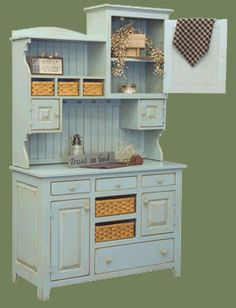 Love this piece of furniture-can make this from pieces/parts.