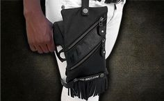 LegBagz - cutting-edge gun holster lets you casually access your gun without attracting attention, easily lets you disguise the shape of your gun so that it doesn't look like a gun and it keeps your gun clean!
