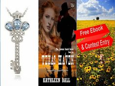 Contest Entry- chance to win This beautiful pendant features a key design with a splendid crown top that is set with blue topaz  Enter- Kathleen Ball Western Romance - http://modo.ly/1jNpVID