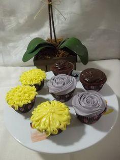 Cupcake de brigadeiro uma deliciosa receita da Léia do Blog Receitas Culinárias