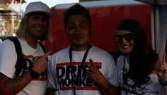 The Norwegian Drift King with his wife and the legend Daigo.  Team DriftMonkey
