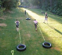 Ideas for my Backyard Bootcamp, coming Summer 2013.