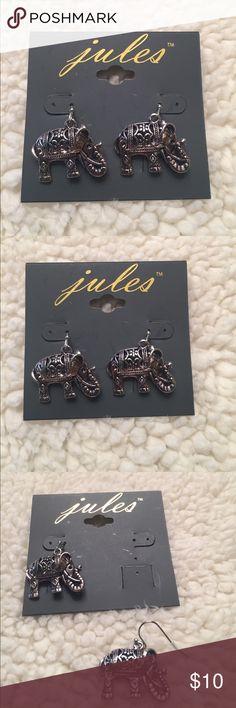 Jules Fashion Elephant Earings Jules Fashion Elephant Earings Jules Jewelry Earrings