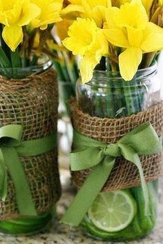 It's so easy DIY blog: Moje inspiracje - wiosenne dekoracje
