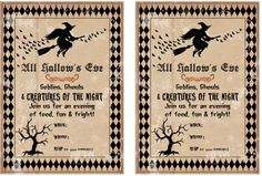the 21 best free printable halloween party invitations unique and