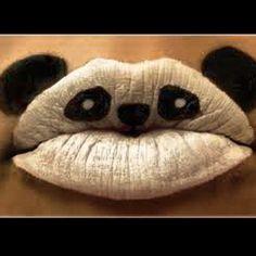 Cute!! Panda lips