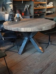 Circle Dining Table, Basement Bar Designs, Living Room Lounge, Family Room Decorating, Dining Room Inspiration, Buffet, Kitchen Remodel, Furniture Design, New Homes