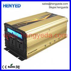 High quality single phase household 1000w grid off inverter for solar system - Shenzhen Heng Ye Da Electronic Co., Ltd