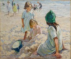 The Sands by Dorothea Sharp (1922) |