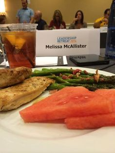 Eating healthy, even at events. It can be done! :)