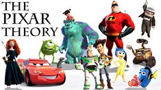 From 'Inside Out' to 'The Incredibles' to 'Finding Nemo' to 'Toy Story,' we explain how every Pixar film exists in the same universal timeline. Pixar Theory, Theories About The Universe, Inside Out, Toy Story, Audio Books, Pop Culture, The Incredibles, Memes, Disney