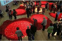 Image result for knitted remembrance poppies