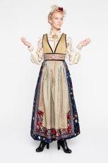 13EVA-LIE17550_web Norwegian Clothing, Eslava, Clothes Basket, Scandinavian Fashion, Fantasy Gowns, Tribal Dress, Wedding Costumes, Folk Costume, Character Outfits