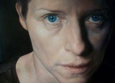 Angela Reilly - Self Portrait (oil on canvas)