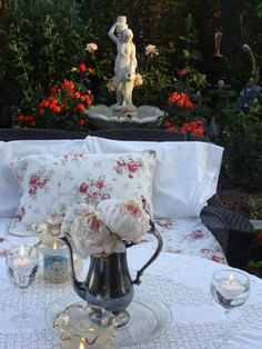 Chic and Shabby in the Garden ~