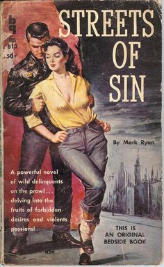 art of the beautiful-grotesque: Sin & Sinners: Various Pulp Artists