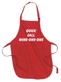 quick call wine one one funny apron is available at 1750 https. Interior Design Ideas. Home Design Ideas