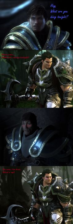Garen and Darius