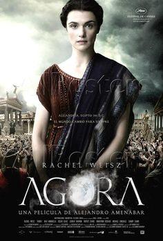 Alejandro Amenábar yönetmenliğinde döneme damga vuran  bir kadın... Hypatianın hikayesi iskenderiyeli Hypatia. Aykırı cesur bir kadın ve trajik bir sonunu anlatıyor film. Agora türkçe altyazılı olarak izleyebilirsiniz.