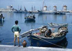 Rare Photos, Old Photos, Greece Rhodes, Karpathos, Mykonos Island, Athens Greece, Photo Archive, Rhode Island, Beautiful Places