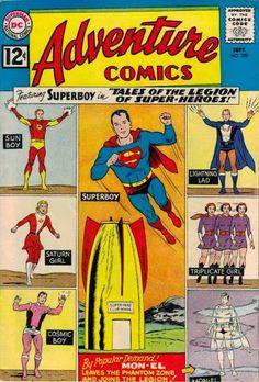 Adventure Comics #300 Art by Curt Swan