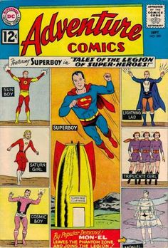 Adventure Comics #300 Art by Curt Swan