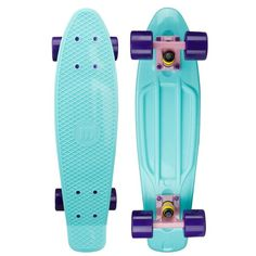 """Amazon.com : Mayhem Penny Style Board Celestial Purple 22"""" Plastic... (180 BRL) ❤ liked on Polyvore featuring penny boards and skate"""