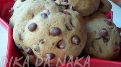 Dika da Naka Blog de Culinária, Receitas, Gastronomia e Dicas de Alimentação: Cookies com recheio de Oreo