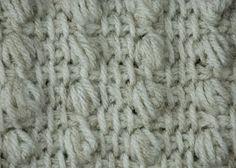 Tunisian puff stitch