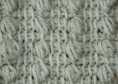 My Tunisian Crochet: Tunisian Puff Stitch