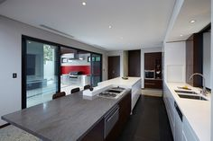 Wembley Residence 2012 contemporary-kitchen