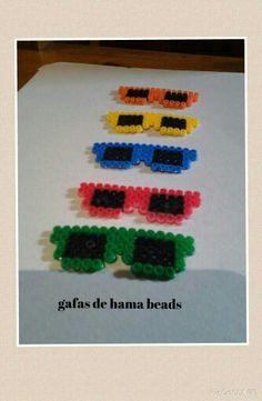 Gafas de hama beads