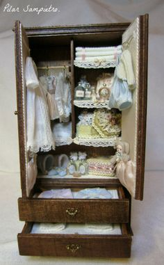 Miniature Child's Closet
