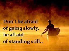 always moving forward...