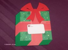 CHRISTMAS GIFT MAILER Mail Supplies by SouthamptonCreations, $3.00