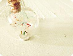 Sterling Silver Buttonsy Rainbow Dandelion Wish Globe Necklace Dandelion Wish, Christmas Bulbs, Globe, Rainbow, Jewellery, Sterling Silver, Holiday Decor, Rain Bow, Speech Balloon