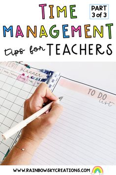 Teachers are among the most time-poor people we know, because they wear so many hats. This is the final instalment of our 3 part blog series on tips to help teachers with time management tricks, hacks and strategies.